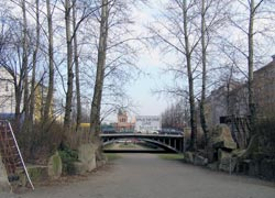 Die elf Pappeln an der Waldemarbrücke