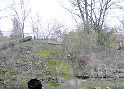 Uferschäden
