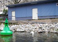 Abbruchstelle Riedel-Anleger Kottbusser Brücke
