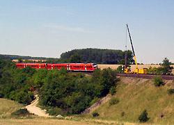 Spunden während lfd. Bahnbetrieb