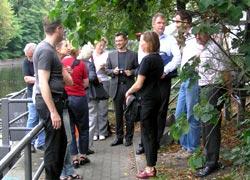 Vorort-Termin Riedel-Anleger