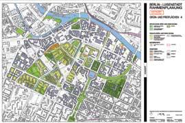 Planentwurf Grünflächen ©Herwarth+Holz