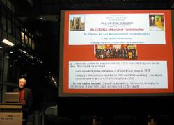 Schellnhuber mit Nobelpreisträger-Appell
