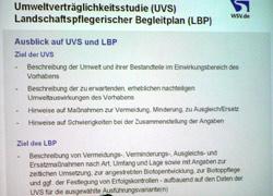 Ausblick auf UVS und LPB