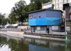Riedelanleger Kottb. Brücke instandgesetzt