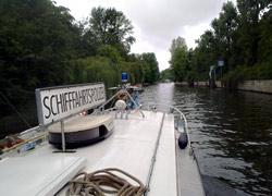 Einvernehmen im Polizeiboot
