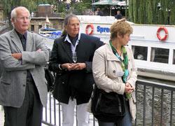 WSD-, WSA-Mitarbeiterinnen, Bürgermeister