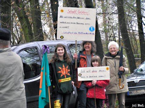 Drei-Generationen-Protest
