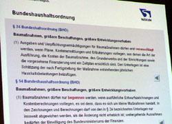 Bundeshaushaltsordnung §§ 24, 54
