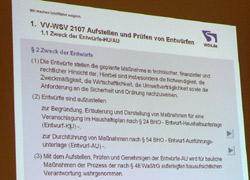 WSV-VV 2107 § 2