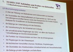 WSV-VV 2107 § 5