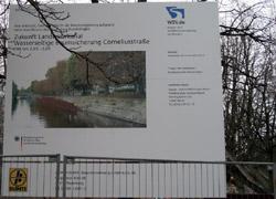 Bauschild Corneliusstraße
