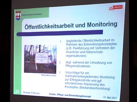 Öffentlichkeitsarbeit und Monitoring