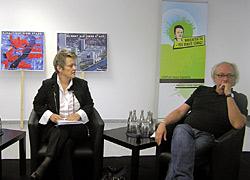 Renate Künast und Claus Leggewie