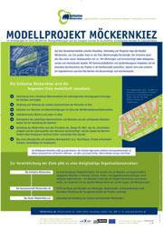 Modellprojekt Möckernkiez Plakat