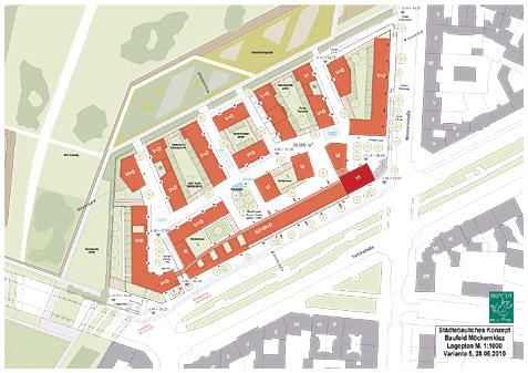 Städtebauliches Konzept Möckernkiez