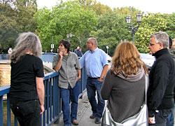 Ortstermin Baerwaldbrücke 19.9.11