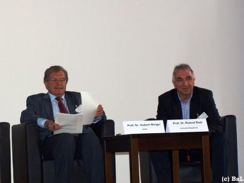 Hubert Weiger und Roland Roth