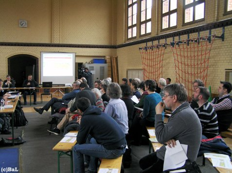 Sonderausschusssitzung zum 2. Bauabschnitt im Kl. Tiergarten