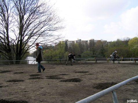 Wildwiesen-Einsaat nahe Studentenbad
