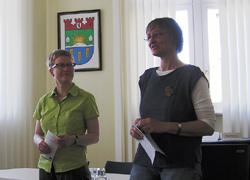 A. Haertel, UmweltKontaktgruppe und B. Kitzmann, Naturschutzstation Malchow