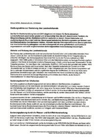 RfS-Stellungnahme zur LWK-Sanierung