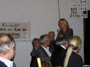 Stadträtin Klotz, Stadtplanungsamtsleiter Kroll, MitarbeiterInnen