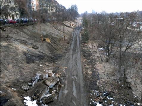 Radweg-Zubringer Bautzener Brache