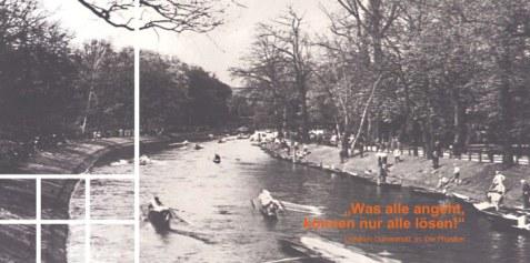 Landwehrkanal zurzeit Lennés