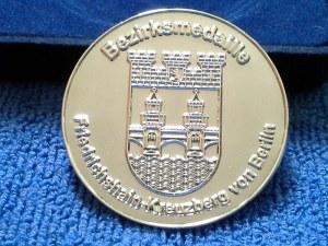 Bezirksmedaille Wappen