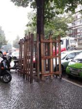 Baumschutz am Bau
