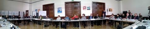 Pressekonferenz im WSA am 17.12.13