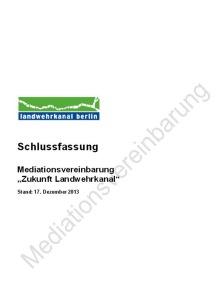 Schlussfassung Mediationsvereinbarung 17.12.13