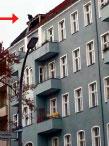 Ungesicherte Dacharbeiten