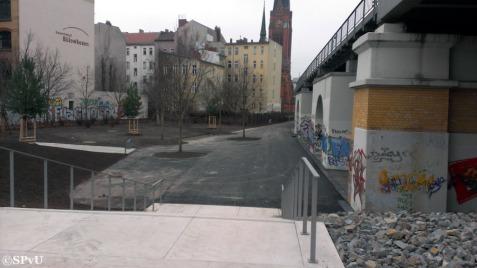 Westparkeingang Bülowstraße