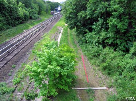 Bahnweg Wannseebahngraben