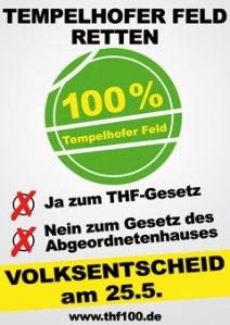 THF-Plakat