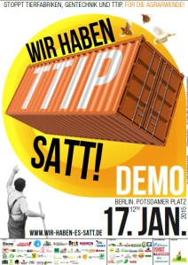 Wir haben es satt, z.B. TTIP!