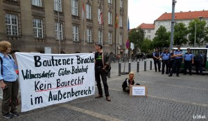 Protest Rath. Schöneberg, 13.7.16