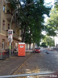Weserstraße Südseite