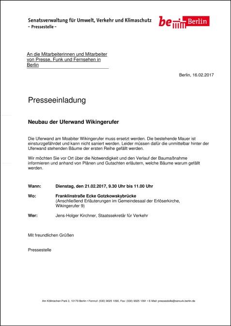 SenUVK-Presseeinladung Wikingerufer