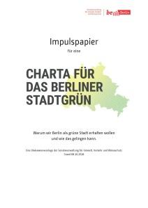 Impulspapier zur Charta Stadtgruen