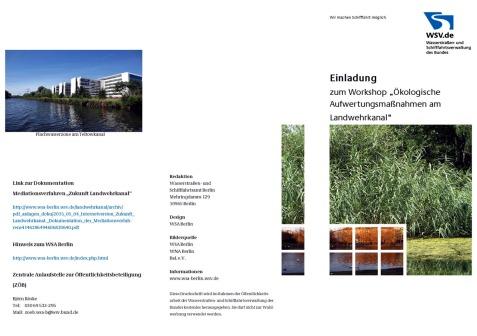 Einladung Workshop ökolog. LWK-Aufwertung